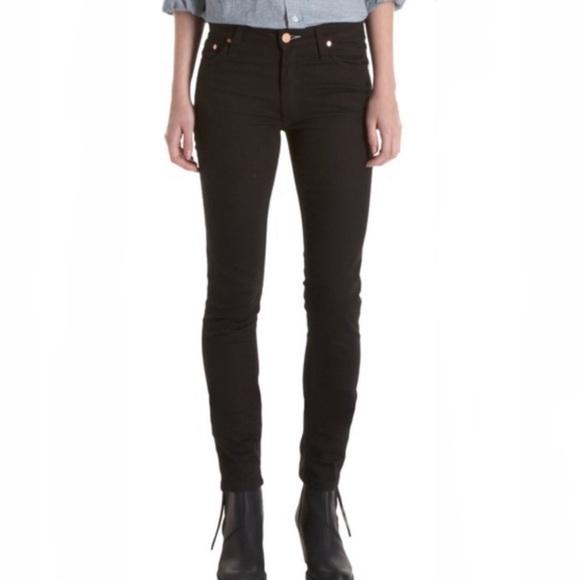 Acne Jeans Flex S Wet Black
